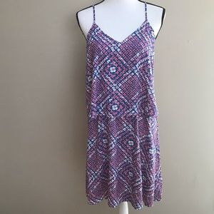 West Loop Blue Pink White Sundress NWT Size XL